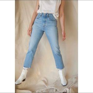 LEVI'S Wedgie Fit Straight Jeans Jive Indigo